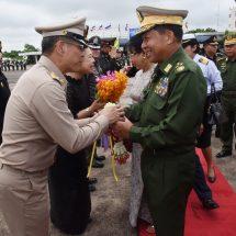 မြန်မာ-ထိုင်း နှစ်နိုင်ငံအကြား စဉ်ဆက်မပြတ် ပူးပေါင်း ဆောင်ရွက်ခြင်းဖြင့် ဒေသတွင်း တည် ငြိမ်အေးချမ်းရေးနှင့် လူမှုစီးပွားဖွံ့ဖြိုးတိုးတက်ရေးများကို ပိုမိုလုပ်ဆောင်နိုင်မည်ဖြစ်