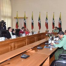 Tatmadaw will practically realize possibilities in connection with peace based on embrace of multi-party democracy and observance of Our Three Main National Causes