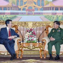 China support for Myanmar's affairs as a good neighbourly nation discussed