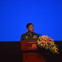 Greetings of Commander-in-Chief of Defence Services Senior General Min Aung Hlaing at the second anniversary of the Nationwide Ceasefire Agreement- NCA