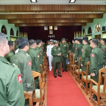 Training will help enhance capability of Tatmadaw in safeguarding the State, lives and property of people