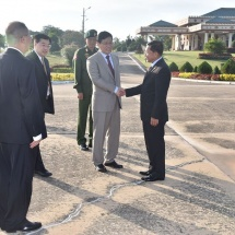 Myanmar Tatmadaw goodwill delegation led by Senior General Min Aung Hlaing pays goodwill visit to People's Republic of China