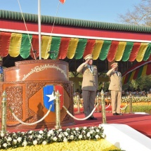 Female military service units were formed in period of safeguarding independence and restoring peace and stability of the State and they participated in respective sectors with brilliant efforts