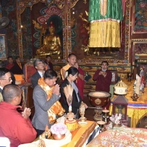 Myanmar Tatmadaw goodwill delegation led by Senior General Min Aung Hlaing visits round in Kathmandu