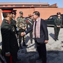 တပ်မတော်ကာကွယ်ရေးဦးစီးချုပ် ဗိုလ်ချုပ်မှူးကြီး မင်းအောင်လှိုင်ဦးဆောင်သည့် မြန်မာ့တပ်မတော်ချစ်ကြည်ရေးကိုယ်စားလှယ်အဖွဲ့ နီပေါဖက်ဒရယ်ဒီမိုကရက်တစ် သမ္မတနိုင်ငံမှပြန်လည်ရောက်ရှိ