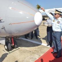 သာလွန်သည့် လေကြောင်းစွမ်းအားဖြစ်လာစေရေးအတွက် မိမိတို့တပ်မတော်၏ လေတပ်ကို ခေတ်မီ လေတပ်မတော်အဖြစ် တည်ဆောက်ရမည်ဖြစ်