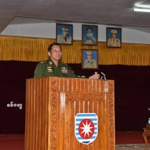 All must have awareness of the country's political, economic and military situation and strictly abide by the discipline to become the Tatmadaw reliable for the people and the State; Blood is always thicker than water among national races