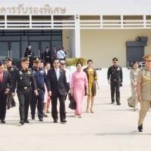 Senior General Min Aung Hlaing concludes Thai goodwill visit