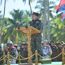 တိုင်းပြည်ကိုကာကွယ်နိုင်ရန်အတွက် တပ်မတော်သည် ကာကွယ်ရေးစွမ်းပကား တောင့်တင်းခိုင်မာအောင်အမြဲမပြတ်ဆောင်ရွက်ရန်လို