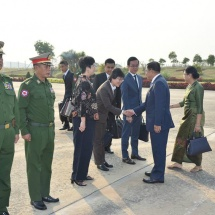Tatmadaw delegation led by Senior General Min Aung Hlaing leaves to attend 15th ASEAN Chiefs of Defence Forces Informal Meeting (ACDFIM)