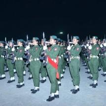 (၇၃)နှစ်မြောက် တပ်မတော်နေ့စစ်ရေးပြအခမ်းအနား