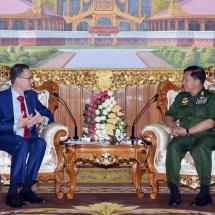Senior General Min Aung Hlaing receives Ambassador of Australia to Myanmar