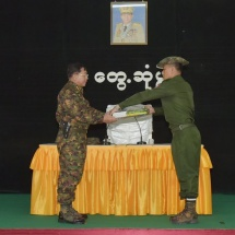 True grit of Tatmadaw members goes together with patriotism and love for country; ward off all acts that may lead to lessening patriotism with conviction