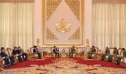 Senior General Min Aung Hlaing receives member of PRC State Council and Minister of Public Security