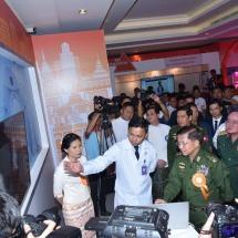 Telecom International Myanmar Company Limited (Mytel) ၏ ထူးခြားကောင်းမွန်ပြည့်စုံသော ဝန် ဆောင်မှုများနှင့် အဆင့်မြင့်နည်းပညာများ မိတ်ဆက်ပွဲ (Empower My Myanmar Ceremony) အခမ်းအနား ကျင်းပ
