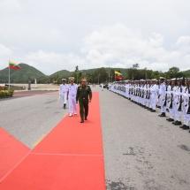 Senior General Min Aung Hlaing visits Royal Thai Navy SEALS, Royal Thai Navy Fleet and Royal Thai Marine Corps headquarters in Pattaya