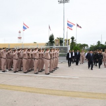 Senior General Min Aung Hlaing concludes goodwill visit to Thailand
