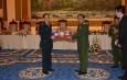 တပ္မေတာ္ကာကြယ္ေရးဦးစီးခ်ဳပ္ ဗိုလ္ခ်ဳပ္မွဴးႀကီး မင္းေအာင္လႈိင္ တ႐ုတ္ျပည္သူ႕သမၼတႏုိင္ငံ၊ ဗဟုိစစ္ေကာ္မရွင္အဖြဲ႕၀င္၊ ႏုိင္ငံေတာ္ေကာင္စီ၀င္ႏွင့္ ကာကြယ္ေရး၀န္ႀကီးျဖစ္သူ General Wei Fenghe အား ဂုဏ္ျပဳညစာျဖင့္ တည္ခင္းဧည့္ခံ