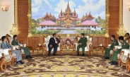 Senior General Min Aung Hlaing receives Ambassador of Malaysia to Myanmar H.E. Mr. Zahairi bin Baharim