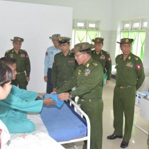 Tatmadaw is trying to achieve eternal peace by putting an end to internal armed conflicts; eternal peace will surely be achieved if all have true spirit to achieve it