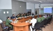 Senior General Min Aung Hlaing inspects Thazin Broadcasting Station of No (1) Tatmadaw Broadcasting Unit, war veteran housing construction in PyinOoLwin