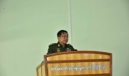 Senior General Min Aung Hlaing meets senior officer trainees from law diploma course (officer)