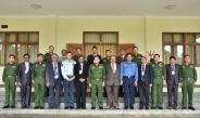Senior General Min Aung Hlaing receives a group led by Patron U Mann Bahadur of All Myanmar Gurkha Hindu Dhamma Organization