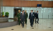 Senior General Min Aung Hlaing leaves for Russia to attend Army Forum-2018 and Week of National Security International Forum