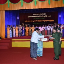 Prize-awarding ceremony of 17th inter-military performing arts,dramatic performance, play and magic show contests organized by Directorate of Public Relations and Psychological Warfare of Office of the Commander-in-Chief (Army) held
