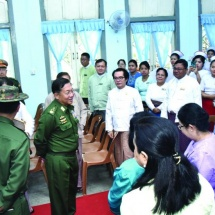 Families of Tatmadaw (Army, Navy and Air), well-wishers donate hospital equipment to Yangon General Hospital