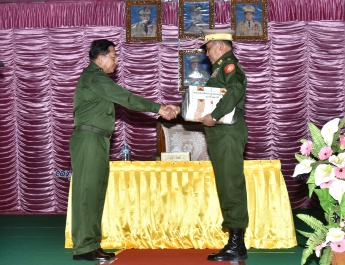 Tatmadaw is mainly responsible for safeguarding the country's independence and sovereignty, protecting interests of the country and ethnics amount to waging a just war