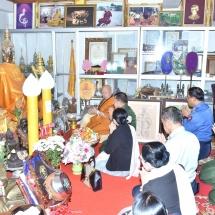 90th Birthday and 70th Vasa of Nagarhnakaung Monastery Sayadaw held