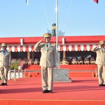 Graduation parade of the 19th Intake of Defence Services Medical Academy held