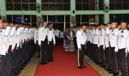 Senior General Min Aung Hlaing attends graduation dinner of 20th Intake of Defence Services Technological Academy