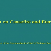 Statement on Ceasefire and Eternal Peace