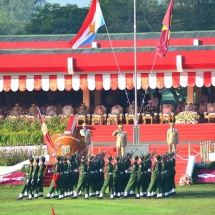 Passing out Parade of 16th Intake of the Defence Services Institute of Nursing and Paramedical Sciences (DSINPS),3rd Intake of Lady Nursing Sciences held