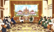 Senior General Min Aung Hlaing receives Japanese State Minister for Foreign AffairsH.E.Ms. Toshiko ABE