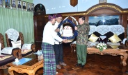 Senior General Min Aung Hlaing holds talks with Christian spiritual leaders on stability and development of Kachin State