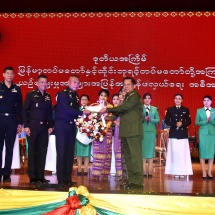 မြန်မာ့တပ်မတော်နှင့် ထိုင်းဘုရင့်တပ်မတော်အကြား ဒုတိယအကြိမ်မြောက် ယဉ်ကျေးမှုဖလှယ်ခြင်း အစီအစဉ်အဖြစ် ထိုင်းဘုရင့်တပ်မတော်ယဉ်ကျေးမှုအဖွဲ့ ဖျော်ဖြေပွဲကျင်းပ