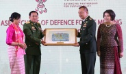Senior General Min Aung Hlaing attends 16th ACDFM