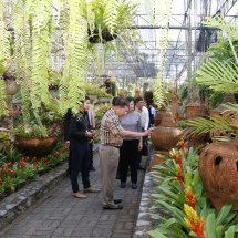 Senior General Min Aung Hlaing visits Nongnooch Garden, 3 Seasons Fruit Factory