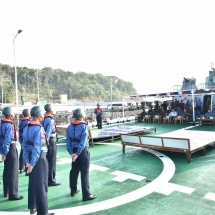 Tatmadaw launches Combined Fleet Exercise-Sea Shield 2019 to enhance its defence prowess