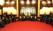 Senior General Min Aung Hlaing holds talks with Chinese Defence Minister Gen. Wei Fenghe
