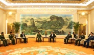 Senior General Min Aung Hlaing calls on Chinese President Mr. Xi Jinping
