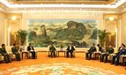 Senior General Min Aung Hlaing calls on Chinese President Mr. Xi Jinping