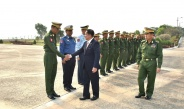 Myanmar Tatmadaw goodwill delegation led by Senior General Min Aung Hlaing leaves for Russian Federation on goodwill visit
