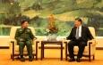 တပ်မတော်ကာကွယ်ရေးဦးစီးချုပ် ဗိုလ်ချုပ်မှူးကြီး မင်းအောင်လှိုင် တရုတ်ပြည်သူ့သမ္မတနိုင်ငံ သမ္မတ Mr. Xi Jinping နှင့် တွေ့ဆုံဆွေးနွေး