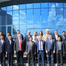 Senior General Min Aung Hlaing views round Irkutsk Aviation Plant and Irkutsk