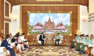Senior General Min Aung Hlaing receives Chinese Ambassador to Myanmar H.E. Mr. Hong Liang