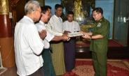 Senior General Min Aung Hlaing pays homage to Shwetanttic Tharakan Pagoda, Shweku Buddha Image in Pakokku, Htilominlo Pagoda in Bagan Cultural Zone